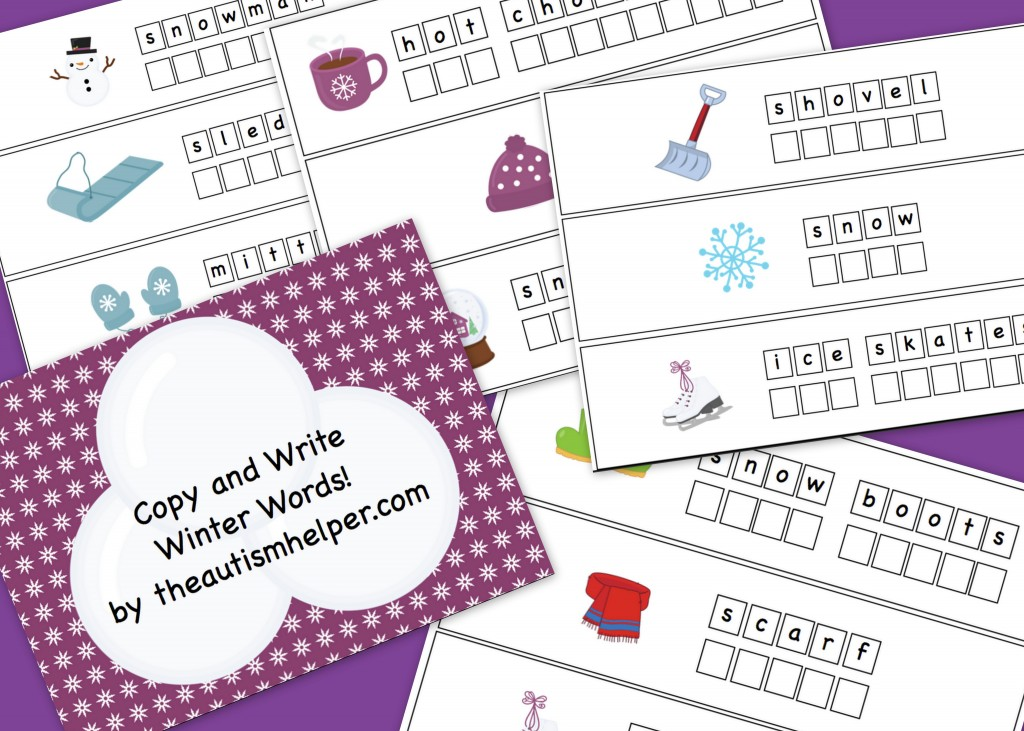 copy and write winter