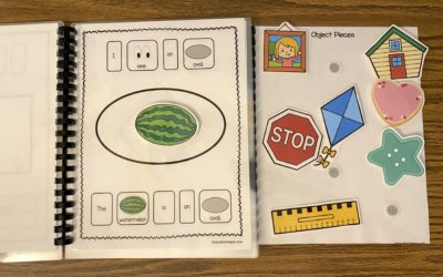 I See Shapes Adapted Book with Free Shape Bingo Games