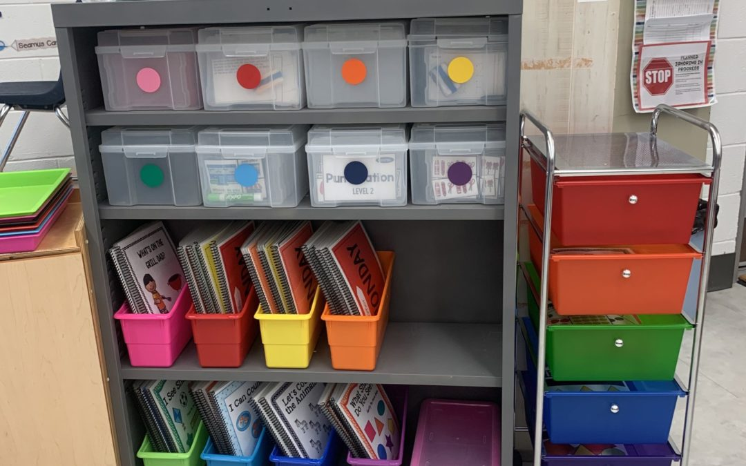 Independent Work Systems for Younger Students